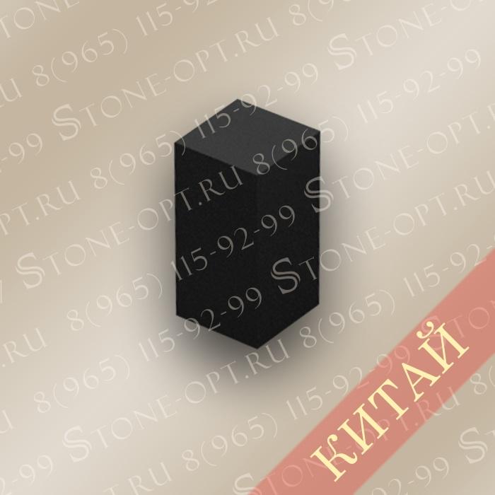 Столбик цокольный прямой из Shanxi Black Z-8