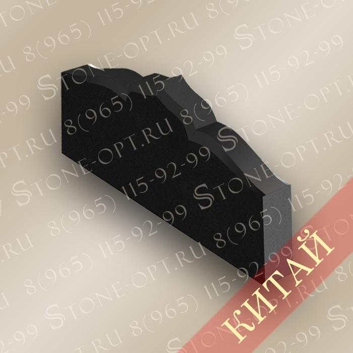 Брусок цокольный фигурный из Shanxi Black Z-12