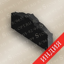 Брусок цокольный фигурный из Absolut Black Z-12