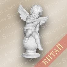 Ангел из розового мрамора SA-01