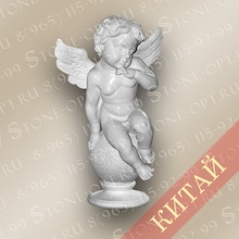 Ангел из белого мрамора SA-03
