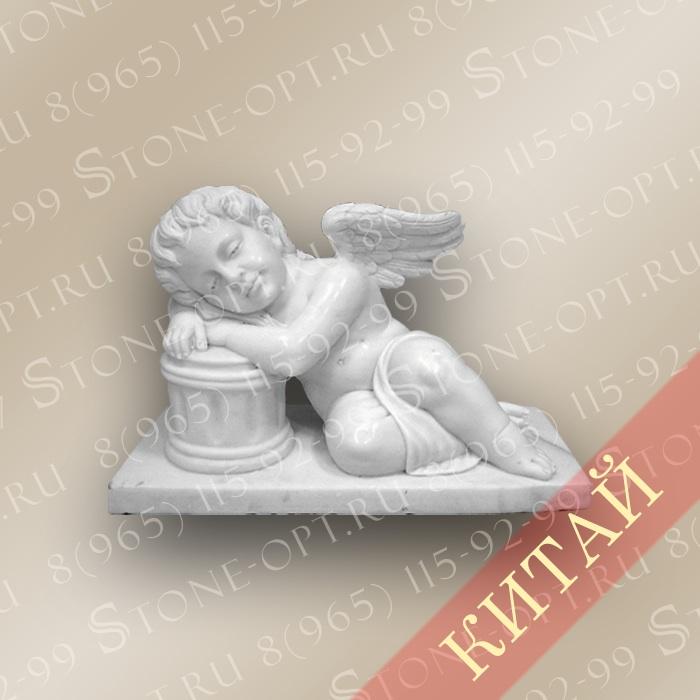 Ангел из белого мрамора SA-22