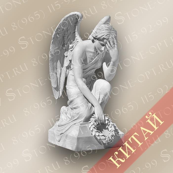 Ангел из белого мрамора SA-24