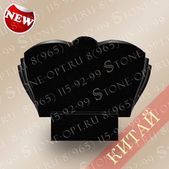 Горизонт-плечики резные из Shanxi Black G-10