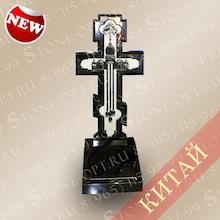 Крест с храмом из Shanxi Black E-14