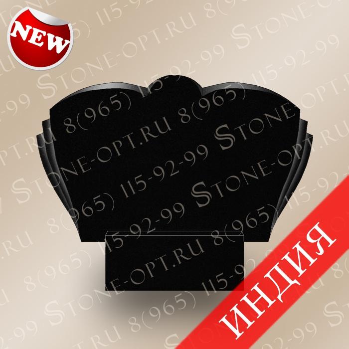 Горизонт-плечики резные из Absolut Black G-10