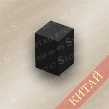 Столбик цокольный прямой из Shanxi Black Z-15