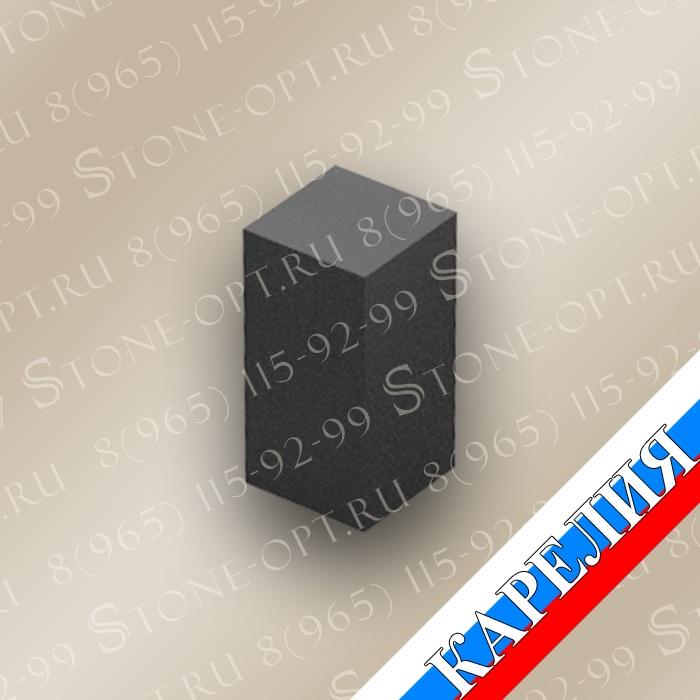 Столбик цокольный прямой из Габбро Диабаз КZ-8