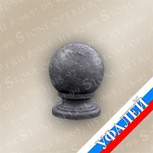 Шар из Уфалейского мрамора (РФ)