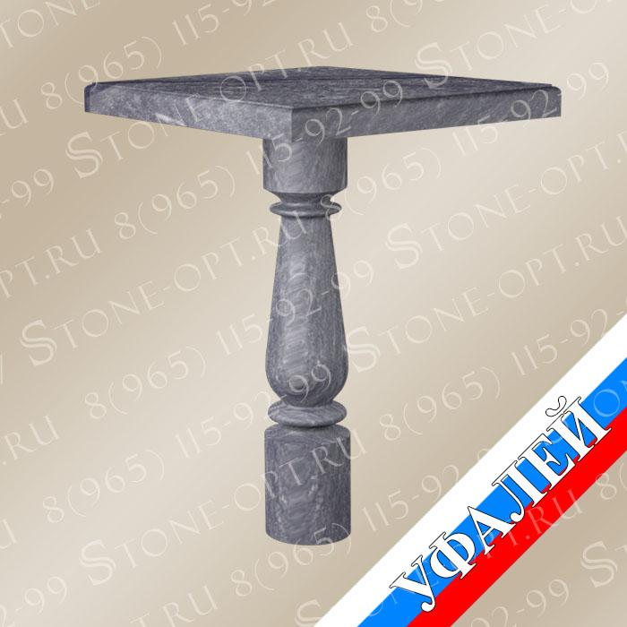 Стол фигурный из Уфалейского мрамора (РФ)