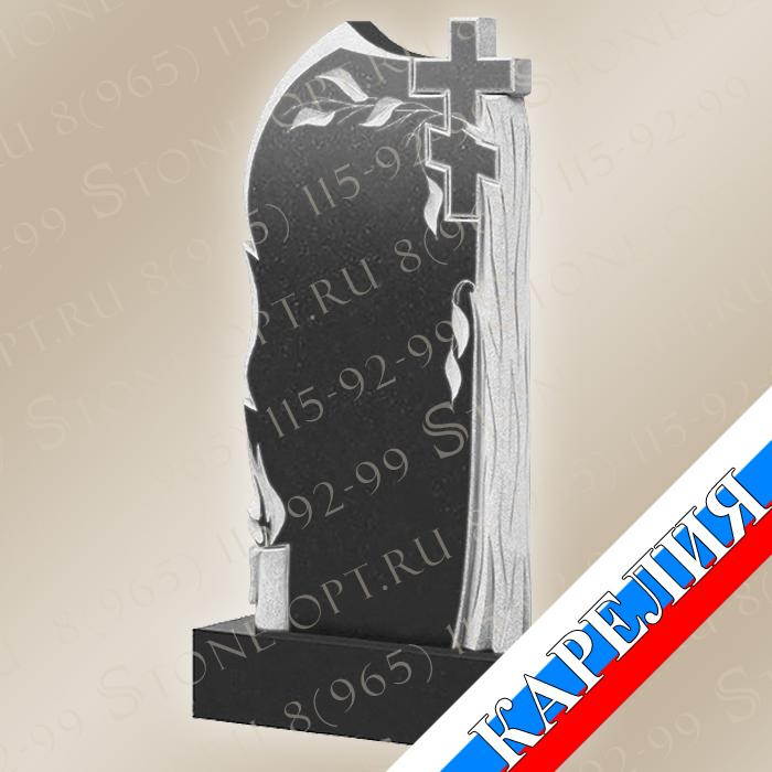 Ива со свечой и крестом КВ0501