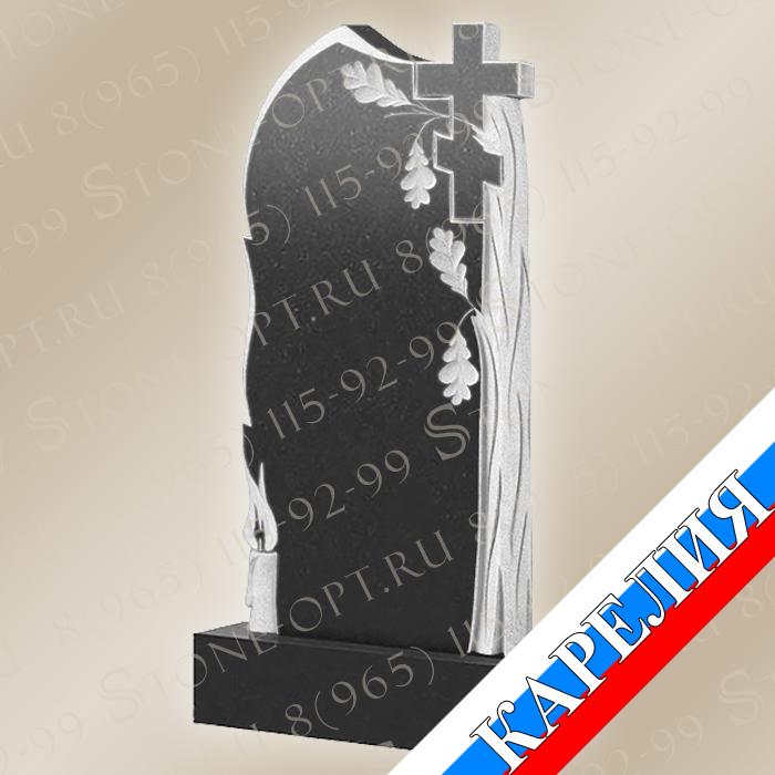 Дуб со свечой и крестом КВ0502