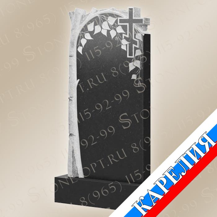 Берёза с крестом КВ0510