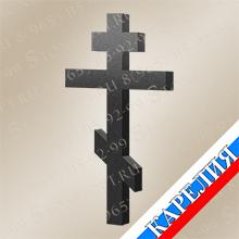 Крест прямой №2 из Габбро-Диабаз КК7651