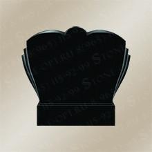 Горизонт-плечики резные из Shanxi Black G-15
