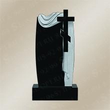 Памятник резной из Shanxi Black R-34