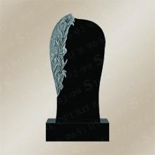 Памятник резной из Shanxi Black R-38